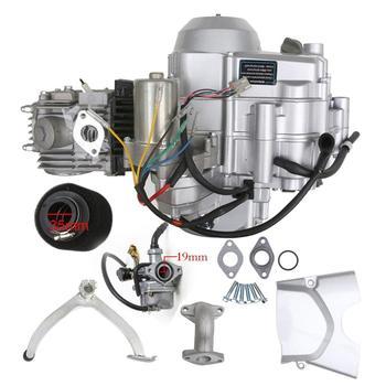 125cc 4 Stroke Semi Auto 3 Forward 1 Reverse Gear Engine Motor for ATV GO Kart Cool Sport Kazuma JCL QUAD Buggy Dune Coolsport