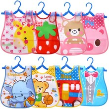 Sleeveless Baby EVA Waterproof Lunch Feeding Bibs Baby Cute Cartoon Feeding Cloth Towels Children Apron Kids Feeding Apron baby bibs eva waterproof lunch feeding bibs newborn baby cute cartoon feeding cloth bib children apron kids feeding accessories