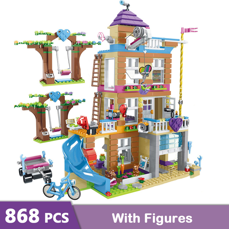 Friendship house blocks