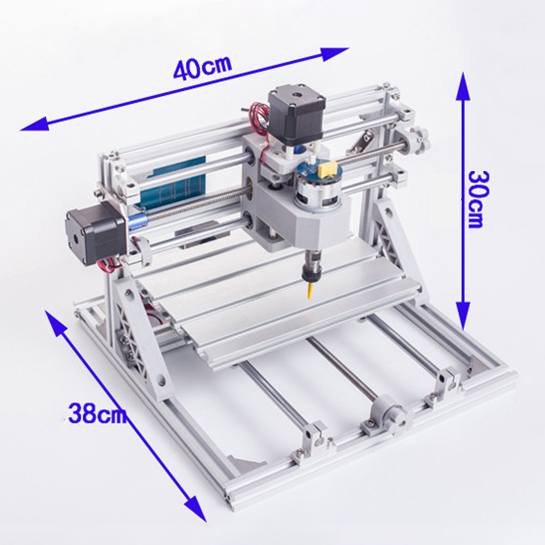 <font><b>CNC</b></font> <font><b>2418</b></font> AC110v~220V GRBL Household Cutting Machine 3 Axis Engraving Machine Model Experiment Science Kits image