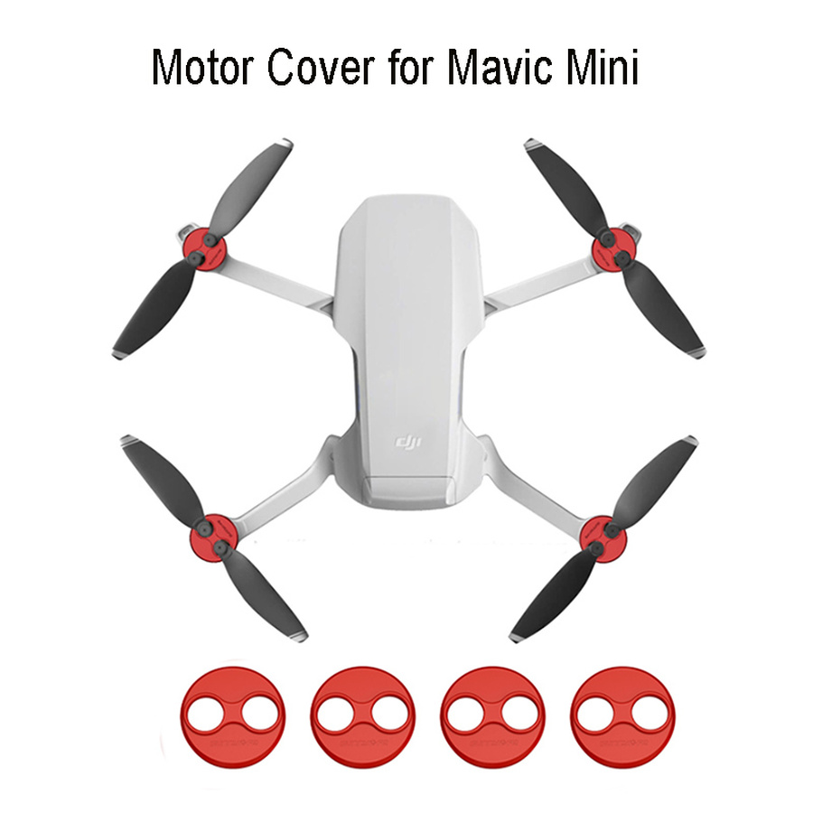 Motor Cover Cap for DJI Mavic Mini Drones Aluminum Alloy Scratchproof Motor Protection Cover Mount for Mavic Air Accessories