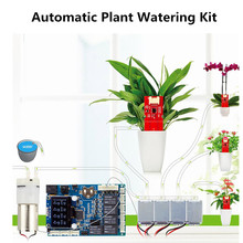 Elecrow Automatic Plant Watering Kit for Arduino with Soil Moisture Sensor DIY Gardening Self Watering Smart Water Pump Device new capacitive soil moisture sensor not easy to corrode wide voltage wire for arduino