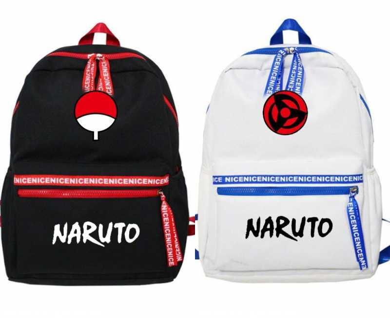 Anime Naruto Cosplay Hokage Cartoon Sharingan Student Schooltas Tieners Rugzak Reizen Schoudertas Knapzak Mens Jongens Geschenken