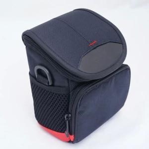 Image 1 - M5 sac avec pochette 15 45mm lentille noir double way zipper design noir appareil photo pour Canon EOS M100 haute qualité