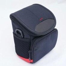 M5 torba w/etui 15 45mm obiektyw czarny dwukierunkowy zamek błyskawiczny czarny aparat do Canon EOS M100 wysokiej jakości