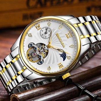 BINKADA WaterProof Tourbillon Mechanical Wristwatch 5