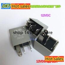 5PC Auto Violet Relais für KIA 12 V/20A DECO 5 Pins Grau Farbe Power Relais Montage 95230-2P040
