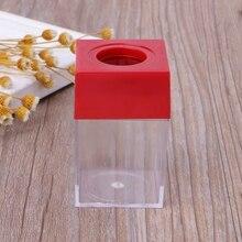 1Pc Magnetic Clip Dispenser Paper Holder Square Box Case  Random Color