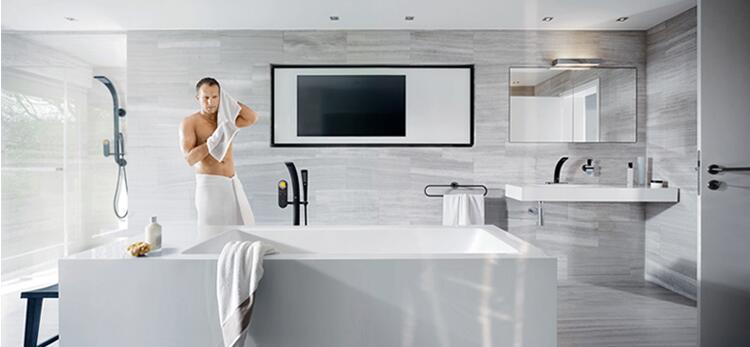 Hd7853a2d241c4a69849448ce157255b4H Tuqiu Basin Faucet Modern Bathroom Mixer Tap Black/Gold Wash basin Faucet Single Handle Hot and Cold Waterfall Faucet