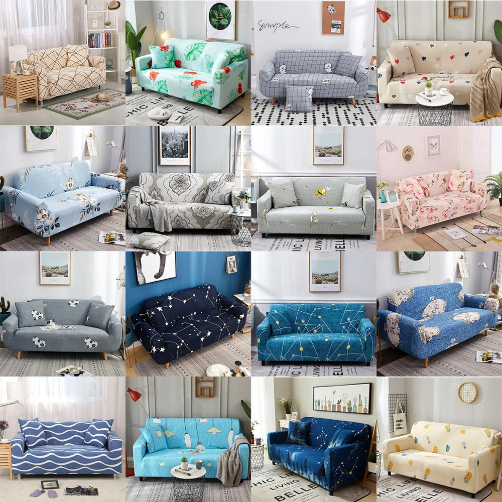LuanQI  Sofa Cover Stretch Force Universal Elastic Housse Canape Slipcovers Cheap For Couch Sofa Chaise Slipcover Pokrycie Sofy