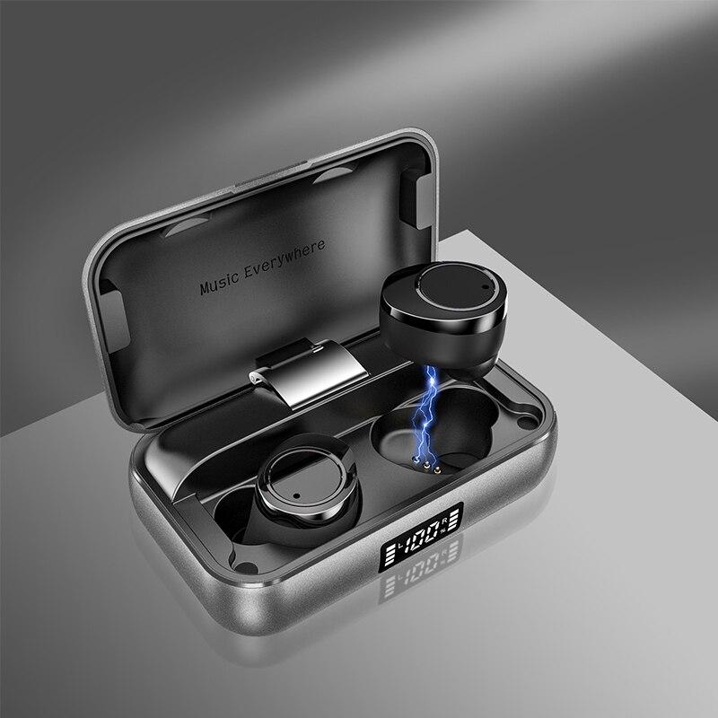 Image 2 - TWS X13 бинауральные Bluetooth 5,0 наушники с сенсорным управлением истинные беспроводные наушники IPX7 водонепроницаемые наушники с шумоподавлением 7h Play-in Наушники и гарнитуры from Бытовая электроника