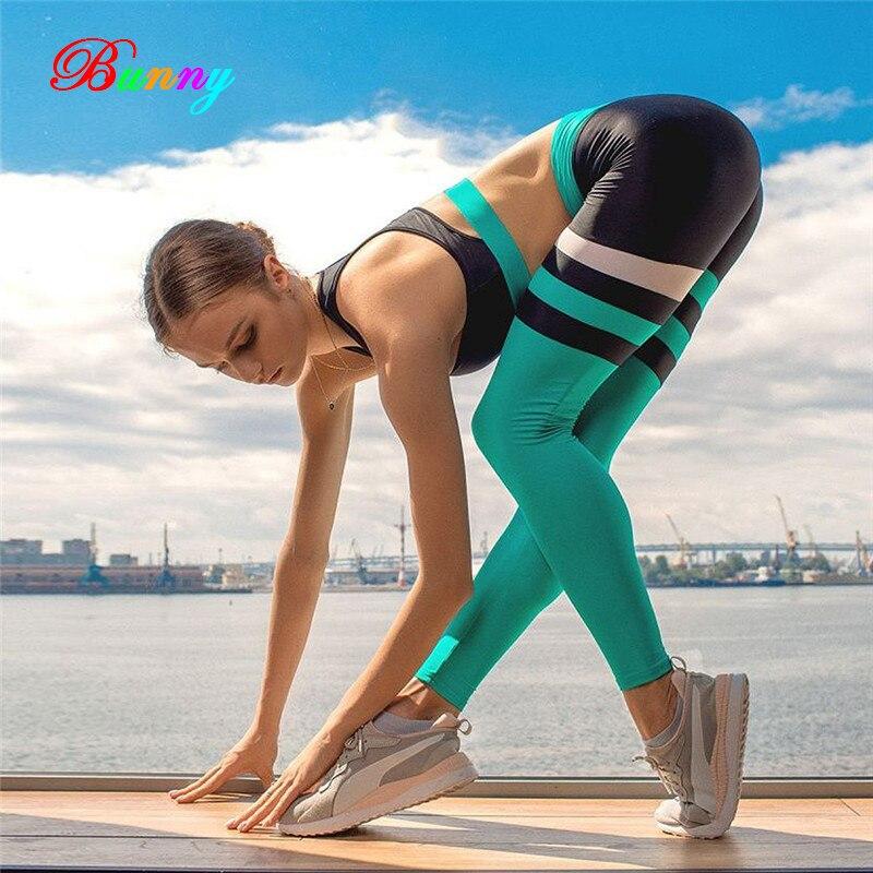 2 pièces femmes survêtements d'entraînement course ensembles taille haute Yoga ensembles sport soutien-gorge Hip Up Gym Leggings collants Fitness vêtements
