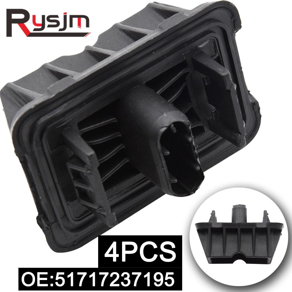 4pcs 51717237195 For BMW 1 3 5 6 7 Series X1 E81 E82 E90 F10 F13 F01 F10 F07 F02 E84 Jack Pad Under Car Support Pad Lifting Car