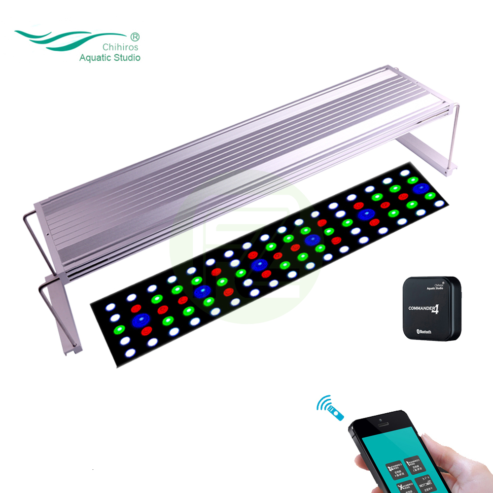 Chihiros WRGB Aquarium Led Lighting Light Lamp With White Blue Red Adjustable Color As Sunrise