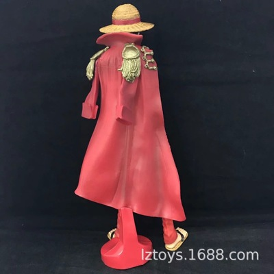 New 2020 25cm One Piece 20th Anniversary Edition Of The Red Hat Luffy Arts King KOA Hands To Do Action Figure Model Toy