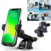 Soporte Universal con ranura para teléfono móvil iPhone, GPS, para parabrisas, 360 °