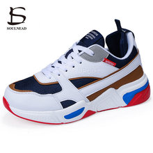 2019 Spring Autumn New Men's Running Sport Shoes  Outdoor Thick Bottomed Sneakers Non-slip Casual Shoes PU+Mesh Breathable 39-46 семена урожай удачи огурец либелле f1 0 3 г