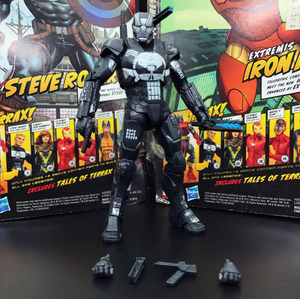 """Image 2 - ML Legends 80th Aniversary Series Punisher Warmachine 6"""" Loose Action Figure"""