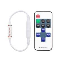 12 24 V 11 Tasten RF LED Streifen Fernbedienung Mini Dimmer RF DC 5V 12V 24 V led Fernbedienung Für LED 5050 2835 Streifen Einzel