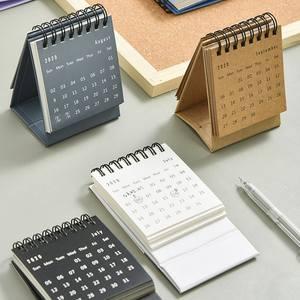 2021 Mini Desktop Calendar Daily Schedule Table Planner