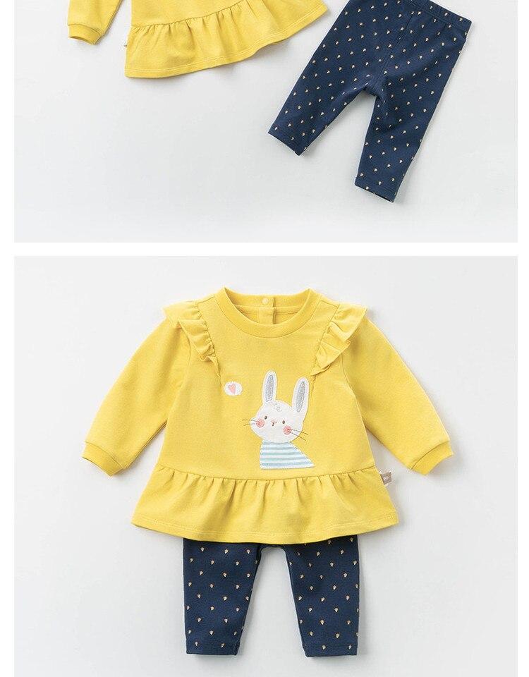 Dbm12841 dave bella primavera bebê meninas moda