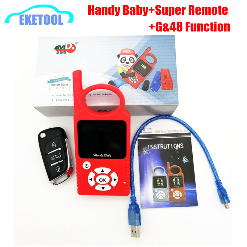 Handy Baby V9.0.5 CBay With 48 And G/96 Bits Function Auto Key Programmer Multi-Language Original For 4D/46/48 1pc Super Remote