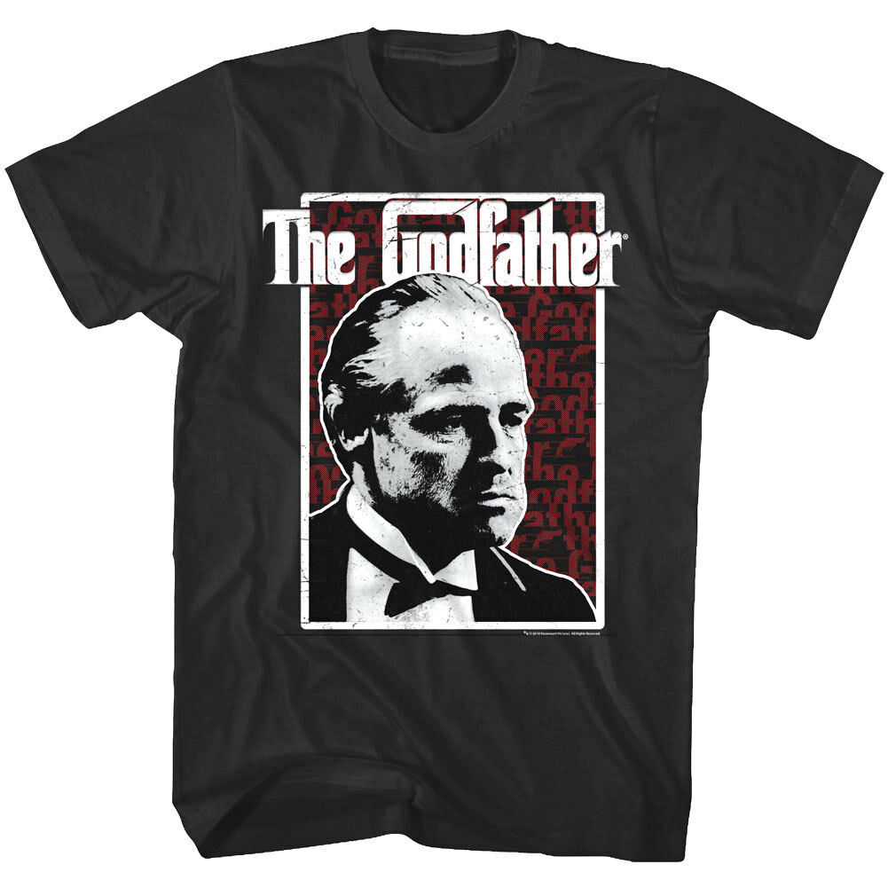 Godfather Don Vito Corleone Men'S T Shirt Marlon Brando Italian Mafia Gang Movie image