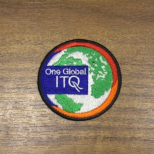 Custom your printed Iron on Patches Sew bagde Hook and Loop Patch 9