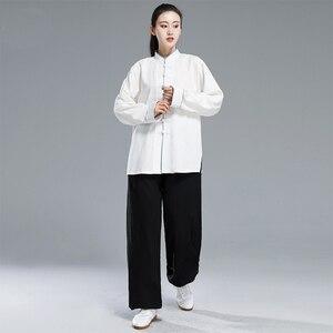 Image 4 - Новая форма тайцзи кунг фу, комплект с китайским платьем для женщин, китайская одежда для мужчин, традиционная китайская одежда для женщин, униформа