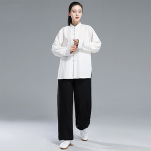 Image 4 - Mới Kung Fu Taichi Đồng Nhất Trung Quốc Đầm Bộ Nữ Trung Quốc Quần Áo Dành Cho Nam Trung Quốc Truyền Thống Quần Áo Dành Cho Nữ Đồng Nhất