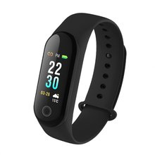 цена на Color Screen Smartband Heart Rate Monitor Waterproof Pedometer Sport Record Fitness Smart Watch For IOS Android