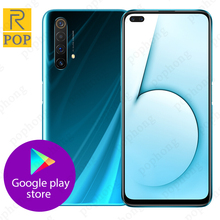 Realme X50 5G Handy 6,57 inch Snapdragon 765G Octa Core Android 10 SA/NSA Smart 5G Rindcallphone NFC