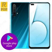 Realme X50 5G téléphone portable 6.57 pouces Snapdragon 765G Octa Core Android 10 SA/NSA Smart 5G CallPhone NFC