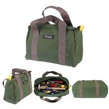 Многофункциональные водонепроницаемые холщовые сумки для инструментов 12 ''14'' 16 ''сумки для хранения Портативный Инструментарий для электрика бытовой