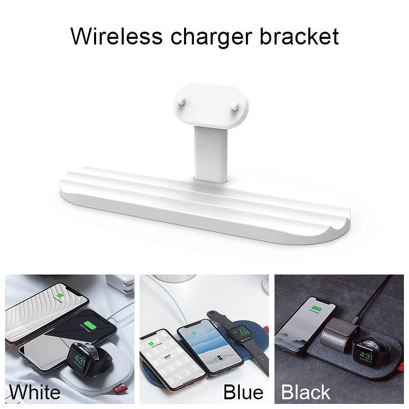 Image 5 - Slicecharge Pro Wireless Charger 30W Qi Certified Wireless Charging Pad 6 Coils Wireless Charging Mat for iPhone Apple Watch 5 4Wireless Chargers   -