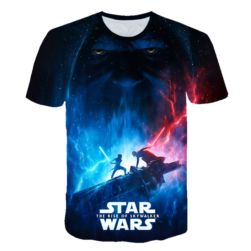 2019 T Shirt Homme Camisetas Hombre Novelty Star Wars A New Hope Robot Men T-Shirts T Shirts 3D Print Kids Funny Tees 100-6XL