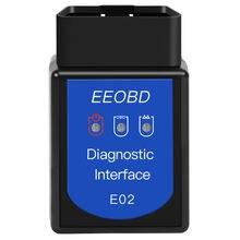 Eeobd e02 bt 30 bluetooth автомобильный двигатель детектор неисправностей