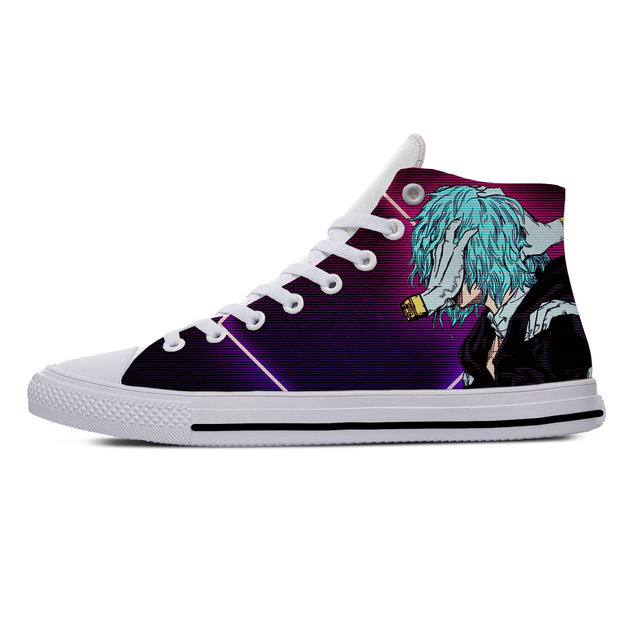 MY HERO ACADEMIA THEMED HIGH TOP SHOES (10 VARIAN)