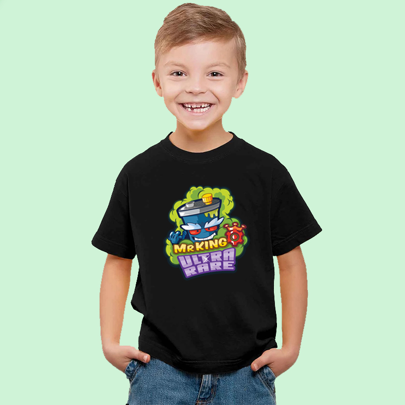 2020 New Kids Boys T Shirt Super Zings Figurka OUTLAW CLINT Superzings Serie 5 Toddler Girls Tops T-shirts Children's Clothing