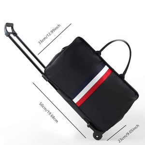 Image 3 - JULYS SONG Men Luggage Bags Trolley Travel Bag With Wheels Rolling Carry on Suitcase Bag Wheeled Women Bolsas