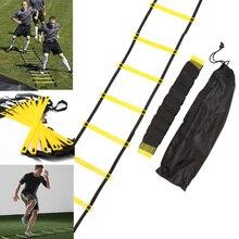 Нейлоновые ремешки, тренировочные лестницы, скорость ловкость, лестницы, проворная лестница для фитнеса, футбола, скоростная лестница, оборудование