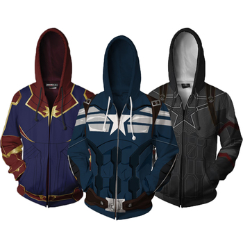 The Avengers 4 Boys Hoodies Coats Captain America Boys Autumn Full Sleeve Spiderman Kid Jacket Children Clothing
