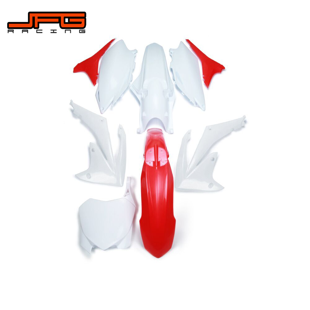 Motorcycle Plastic Cover Fender Mudguards For CRF250R 2010 2011 2012 2013 CRF450R 2009 2010 2011 2012