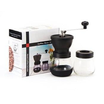 Manual de café triturador de granos de café Molino de Ferris mano...