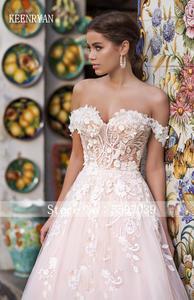 Image 4 - Nieuwe Collectie Sexy Sweetheart Backless Lace Baljurk Trouwjurk 2020 Off Shoulder Elegante Bruid Jurken Prinses Bruidsjurken