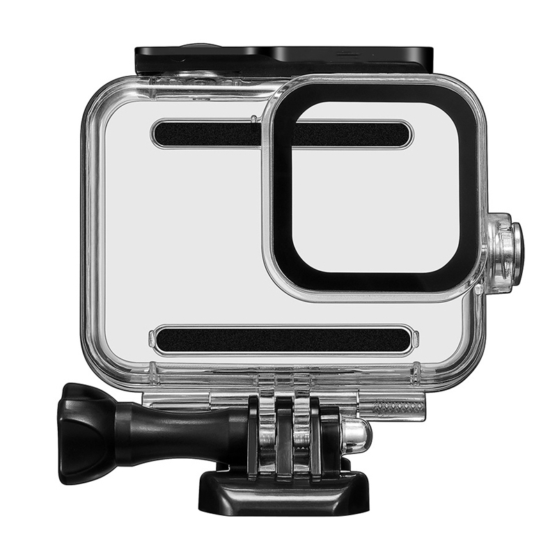 IG-45M Underwater Waterproof Case for GoPro Hero 8 Black Action Camera Protective Housing Cover Shell Frame for GoPro 8 Accesser