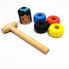 Funny Toy Magic Gift Small Wooden Unbreakable Man Puppet Fun