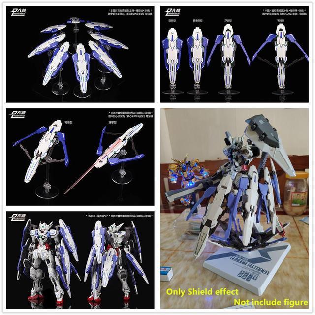 DL model Multi Form Floating shields for Bandai HS 1/100 MB Astraea / Avalanche Astraea Gundam DD060