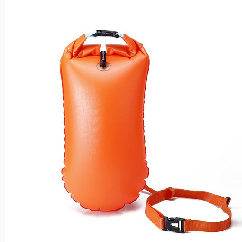 Multi-Function Swim Safety Float Inflatable Storage Lifesaving Bag Strong Waterproof And Durability Diving Drifting Swimming Bag