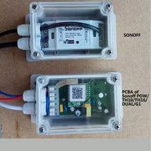 IP66 Wasserdicht Junction Box Wasserdicht Fall Wasser-beständig Shell Für Sonoff Grundlegende/RF/Dual/Pow Smart home Automation Module